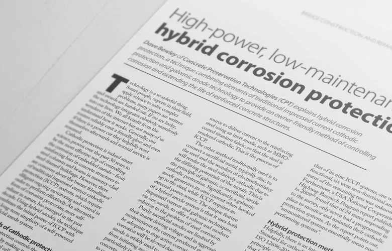 CPT is featured in the Concrete Society's Concrete Magazine - CPT is featured in the Concrete Societys Concrete Magazine