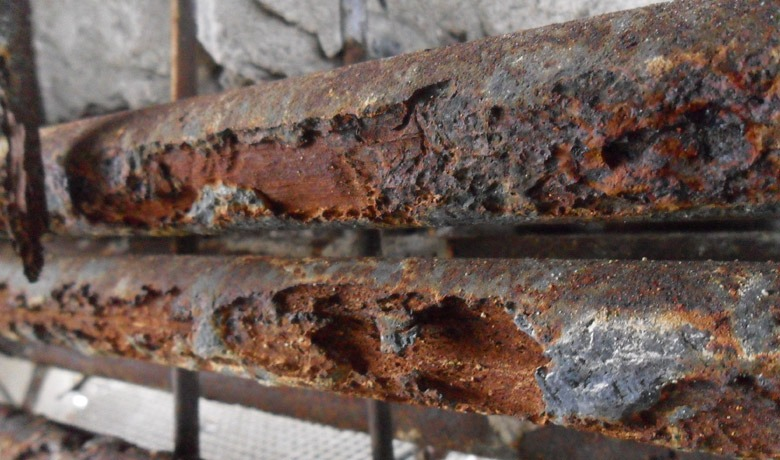 Identifying And Treating Corrosion in Reinforced Concrete Structures - salt attack