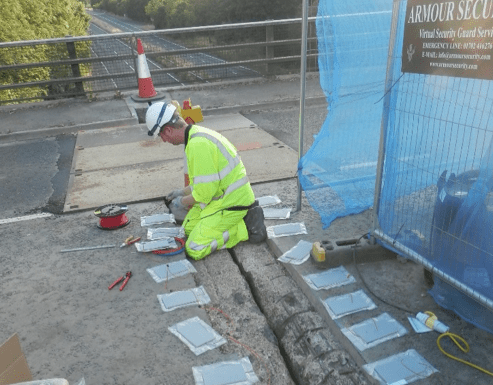 Lilley Bottom Bridge - PJ installation