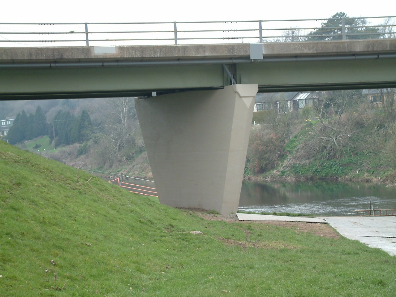Whiteadder Bridge - whiteadder PierFinished2007